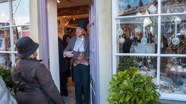 Dickensian Festival-shop