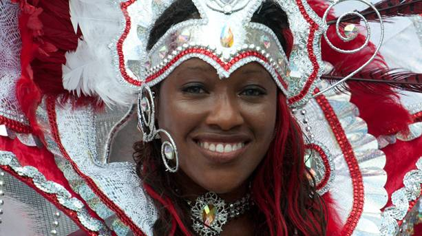 Caribbean Carnival Dancer