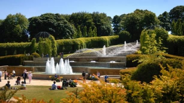 The Grand Cascade at The Alnwick Garden
