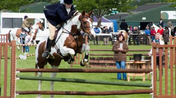 Horse displays at Nottinghamshire County Show