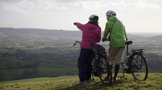 West Dorset Countryside by Electric Bike