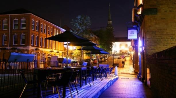 St Pauls Square in Birmingham