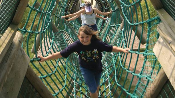 Family activity holidays at Conkers in Leicestershire