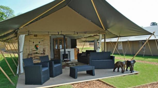 Glamping at Elephant Lodge