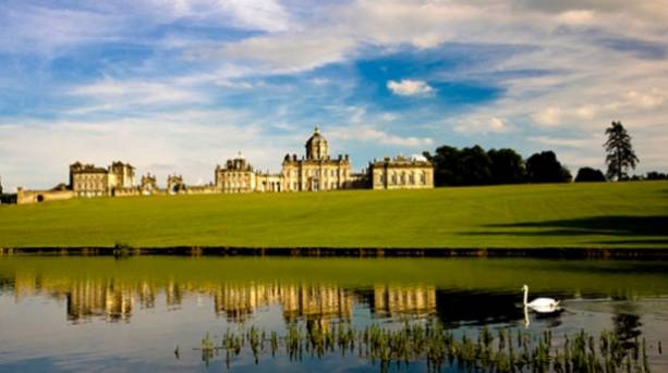 The Great Lake at Castle Howard