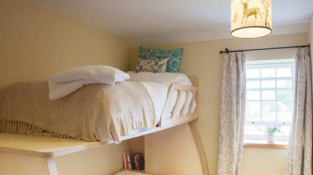 A childrens' bunk bed at Nelson Barn, Cumbria