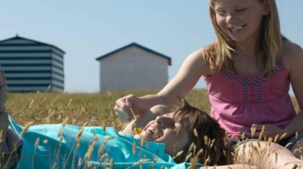 Family fun at Hayling Island, Hampshire