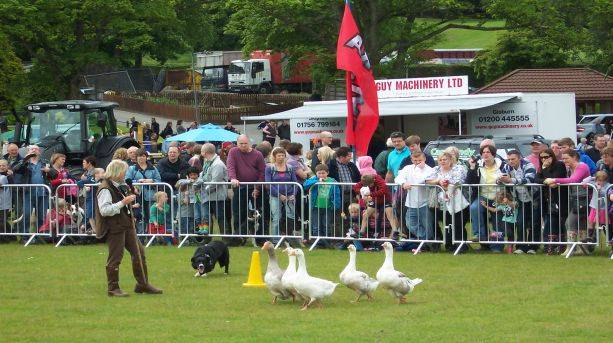 Family fun at the Todmorden Agricultural Show