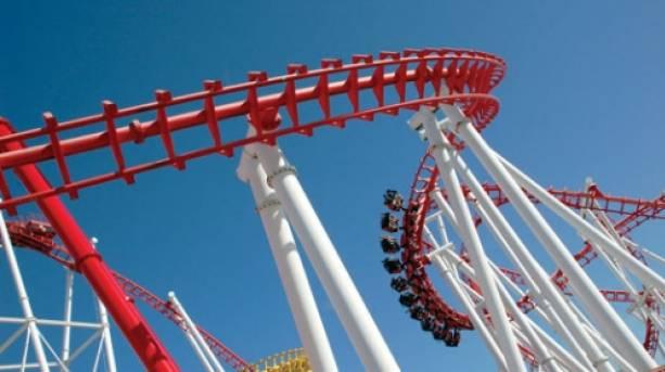 Rollercoaster at Fantasy Island