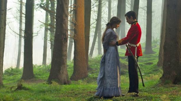Filming of the 2015 film adaptation of Far From the Madding Crowd in Dorset