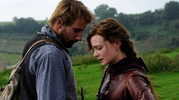 Carey Mulligan and Matthias Shoenarts in Far From the Madding Crowd