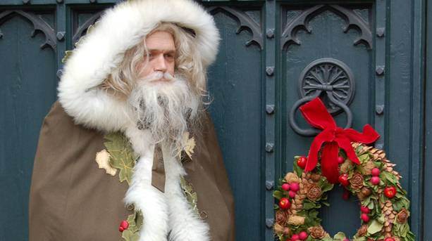 Father Christmas at Coughton Court