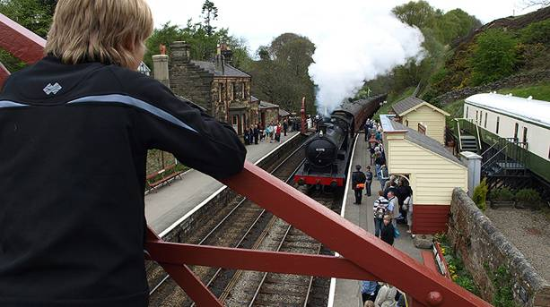 Goathland, home to Hogsmeade Station in the first Harry Potter film