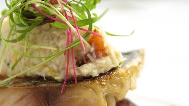 Fish dishes at Shibden Mill Inn © Shibden Mill Inn