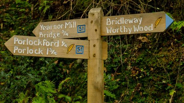 Follow the quill along the Coleridge Way to guide you on your adventure