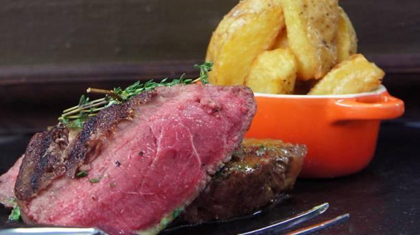 Holdsworth House home matured steak