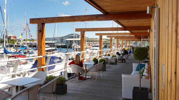 Restaurants on Plymouth Harbour