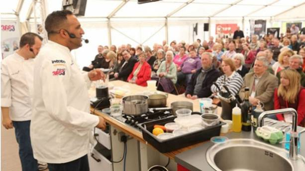Cookery Theatre at the Exeter Festival of Food & Drink