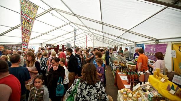Marquee at Forest Food Showcase