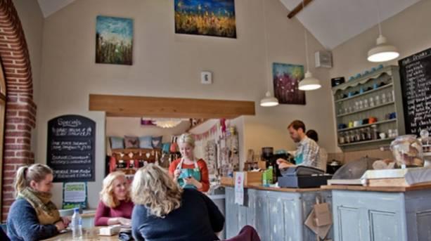 CottonHouse Coffee Shop in Helmsley