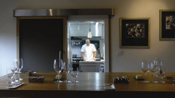 The Chef's Table at Sat Bains with Rooms