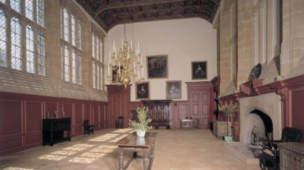 Forde Abbey Great Hall