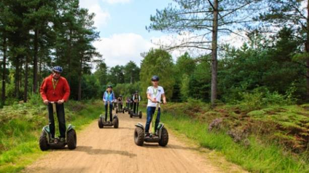 Forest Segway Experience in Dalby Forest