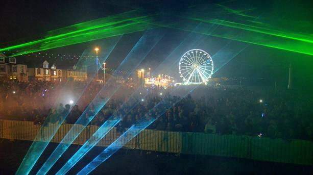 Crowds at Sunderland Illuminations