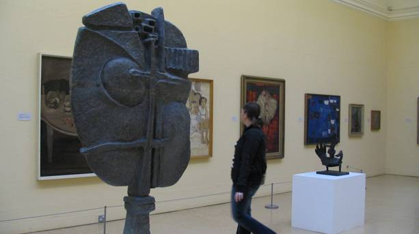 Sculpture in Leeds Art Gallery