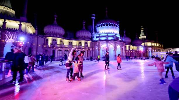 Royal pavilion brighton ice rink