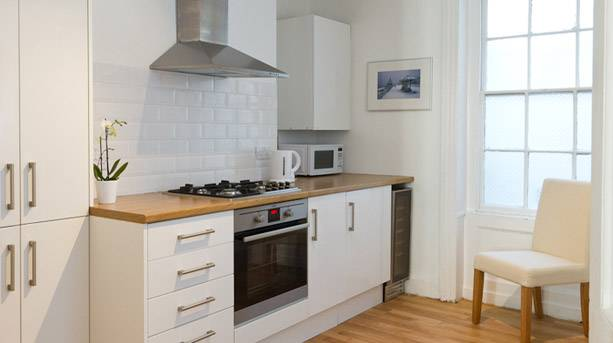 Kitchen at the Central Brighton Town House