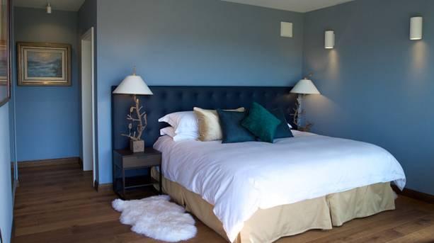 A bedroom at Skyhouse