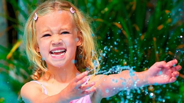 Get Wet Splash Pad at Drusillas Park