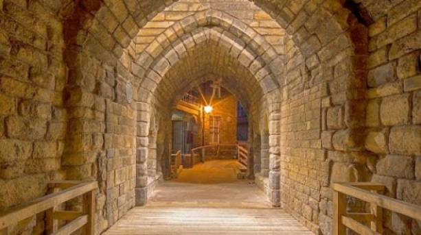 Ghost hunting at Newcastle Castle Keep
