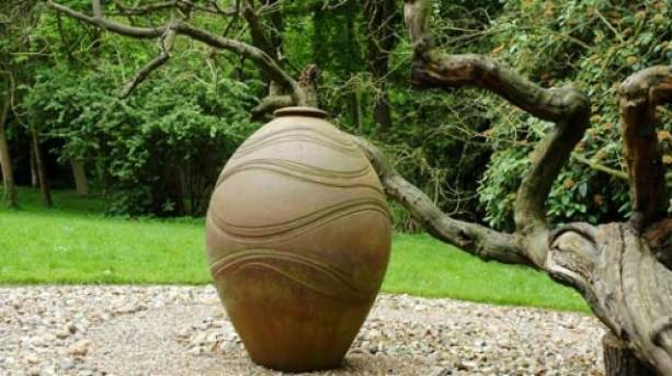 Coiled pot by Monica Young