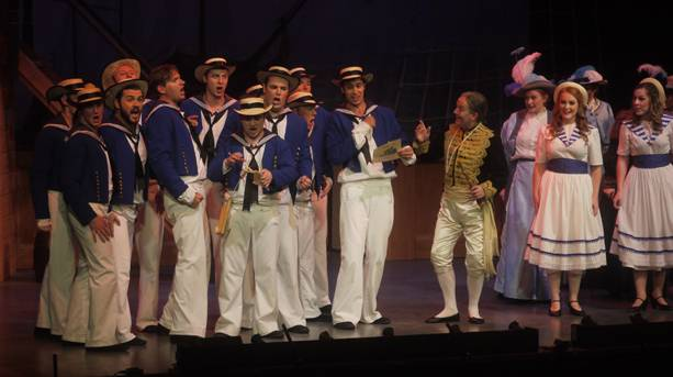 A performance at the Gilbert & Sullivan festival