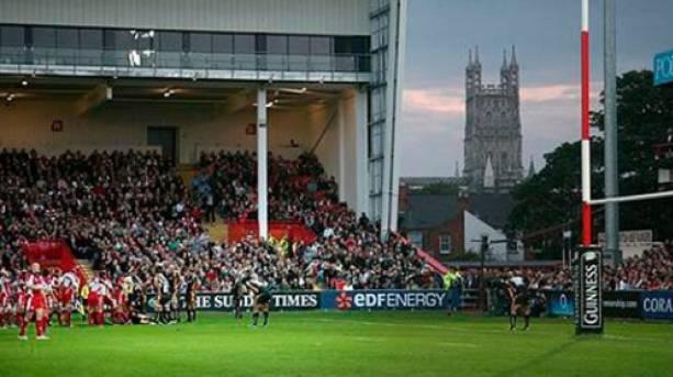 Kingsholm Rugby Stadium, Gloucester