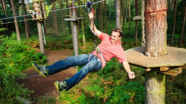 Go Ape! in Dalby Forest
