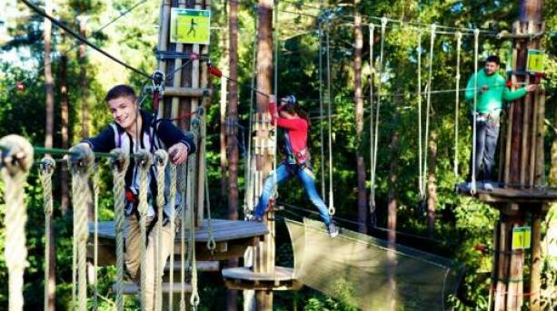 Family days out at Go Ape