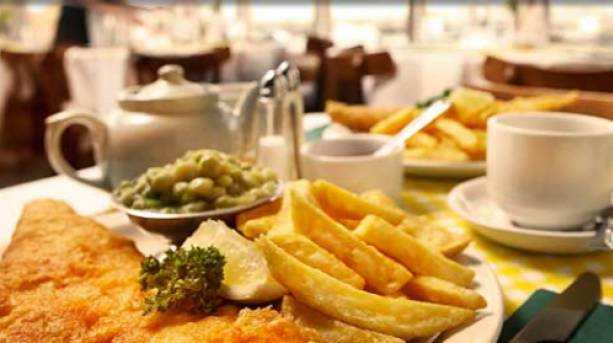 Fish and Chips at the Golden Grid