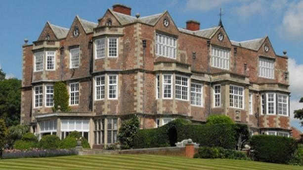 Goldsborough Hall with lawns