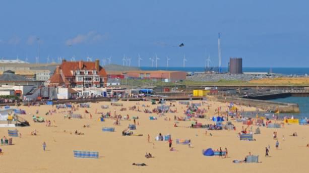Gorleston-on-Sea beach, the biggest and best family-friendly beach