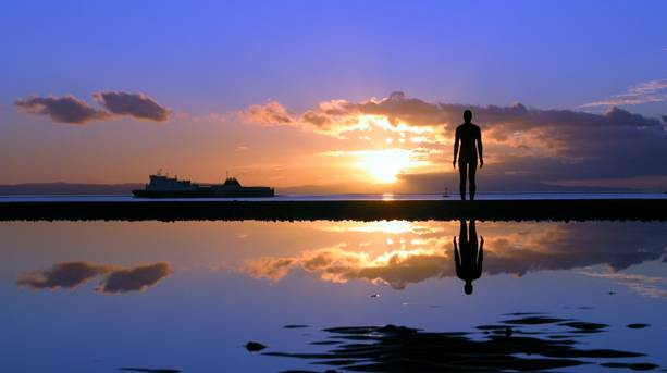 Another Place' by Antony Gormley