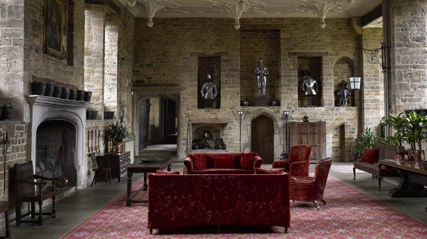 The Great Hall of Broughton Castle