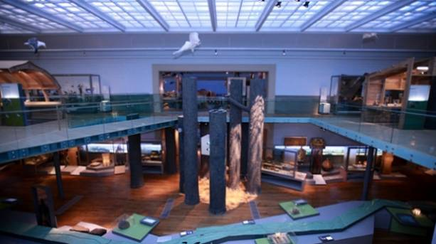 The Hadrian's Wall Gallery at the Great North Museum, Newcastle upon Tyne.