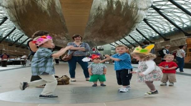 Children's activities at Cutty Sark