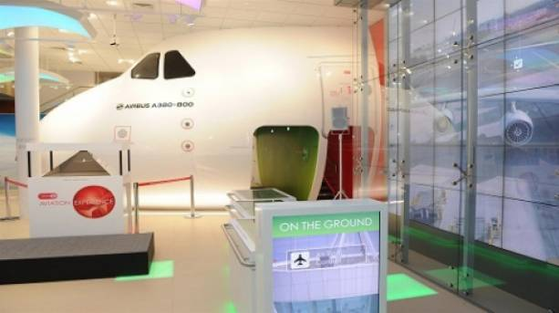 Inside the Emirates Aviation Experience