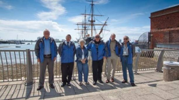 Meet the Portsmouth Greeters