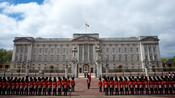 The State Opening of Parliament 2013: procession from Buckingham Palace