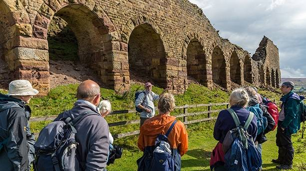 Guided walk in the North York Moors